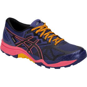 asics Gel-Fujitrabuco 6 G-TX Running Shoes pink/blue